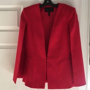 Bcbgmaxazaria red cape jacket